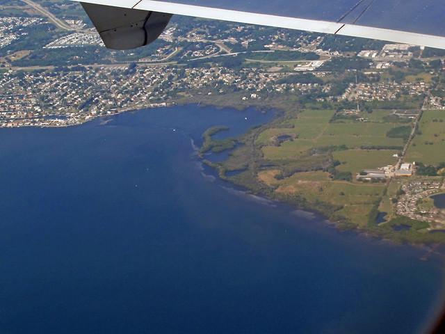 Coming Down Into Sarasota, Florida