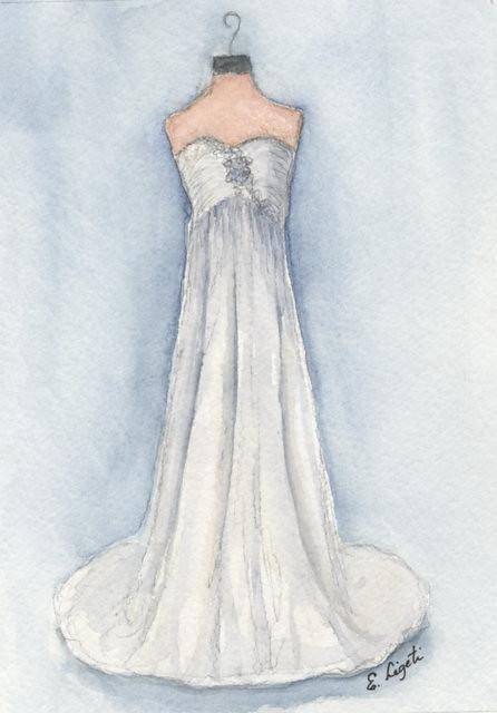 Watercolor Wedding Dress Off 77 Buy