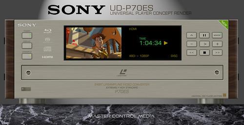 Sony ES UD-P70ES Laser Disc Player RENDER | by mastercontrolmedia