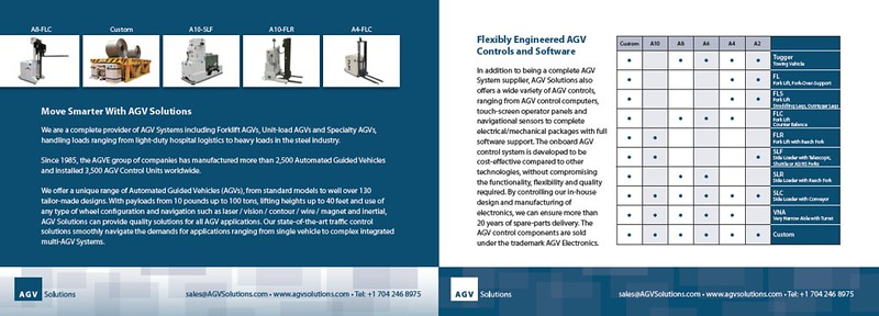 Brochure Interior / AGV Solutions