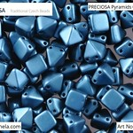 PRECIOSA Pyramids - 111 01 336 - 02010/25033 - Petrol Blue