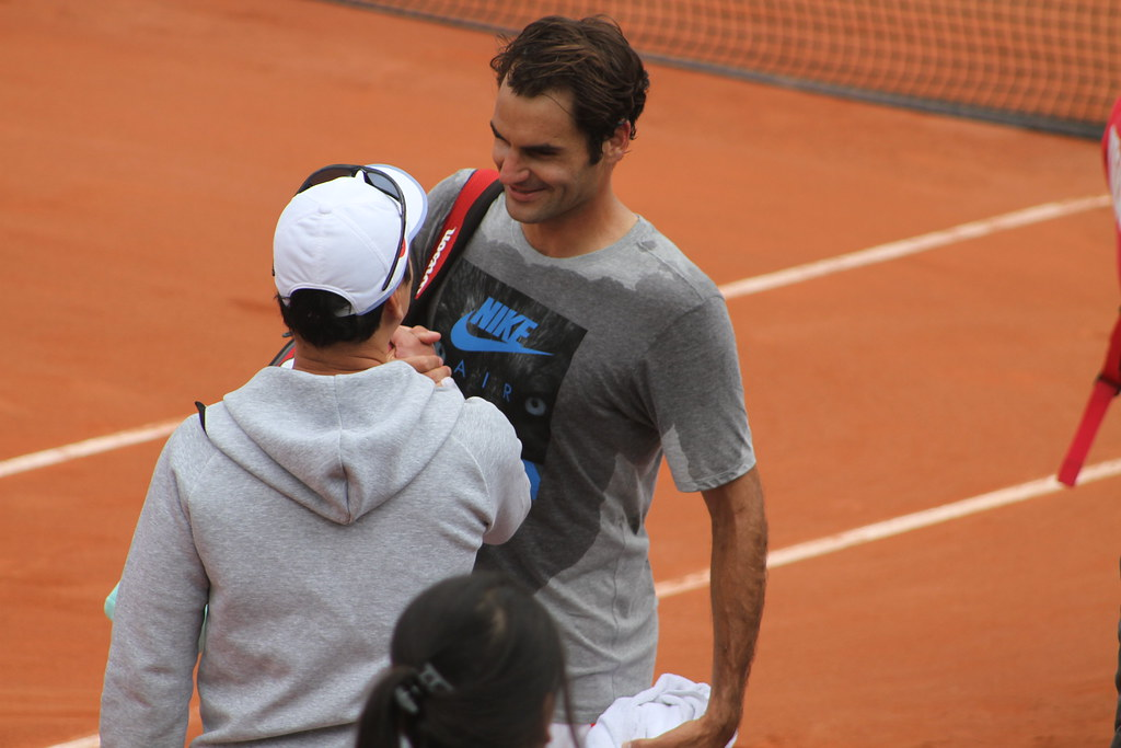 Federer and Chang
