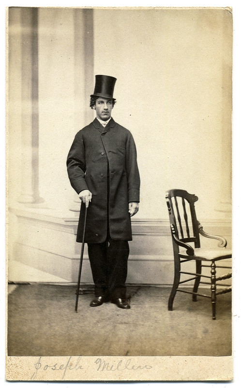 Maine Gentleman with Top Hat and Cane