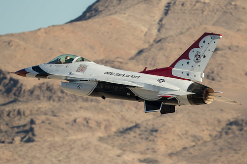 Thunderbirds at nellis | by Nick Collins Photography, Thanks for 3.6 million v
