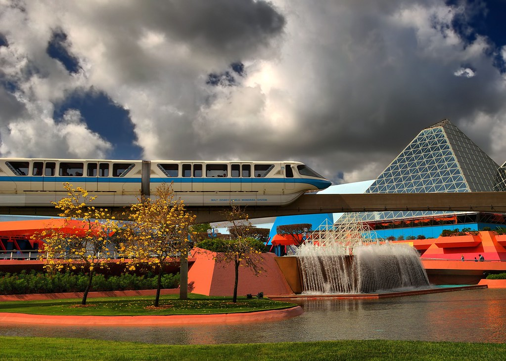 Monorail With Pretty Trees - Or, One of These Things is Not Like the Others