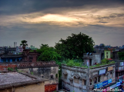 sunset india clouds canon village kolkata hdr hoogly serampore shrirampur sx120 srirampur seerampore