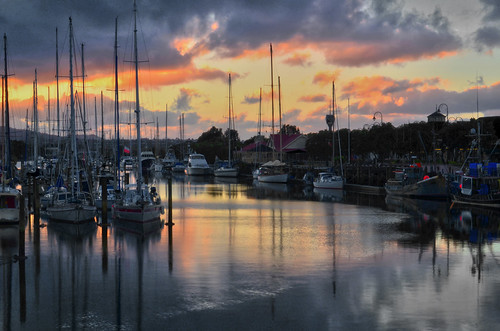 morning bridge newzealand sky water marina photoshop river boats photography boot boat photo nikon view yacht yachts northland wafer hsr asdf highdynamicrange whangarei cs5 hatea d7000