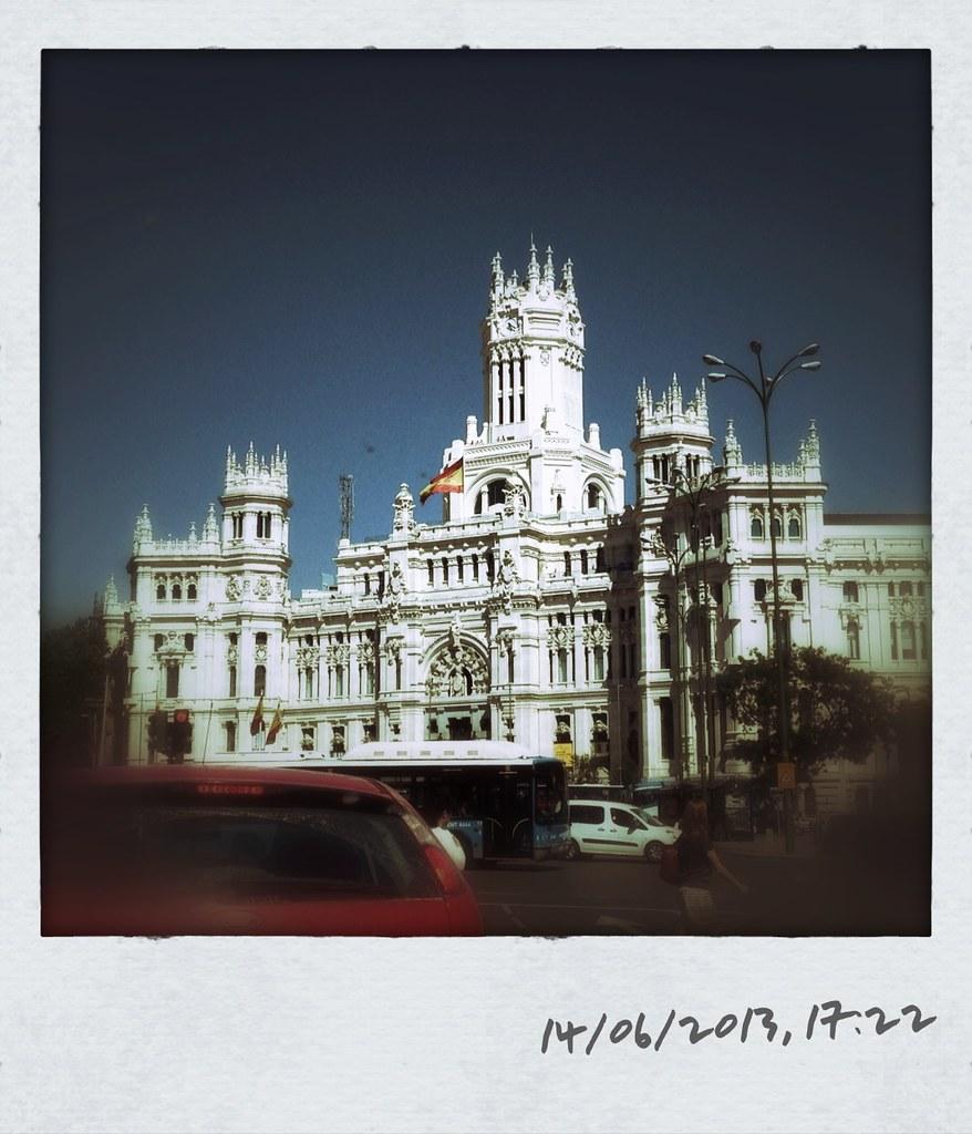 Madrid Palacio De Las Comunicaciones Francisco Martín