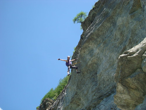 Evolene Via Ferrata | by Mikey Bean