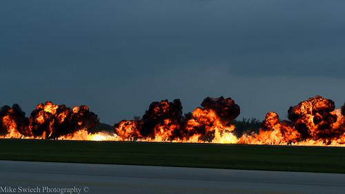 CF18 Bomb Run