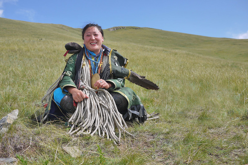 Visit with a Mongolian shaman