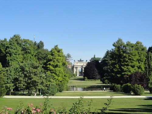 Arco della Pace in Parco Sempione, Milan, Italy | by Veselina Dzhingarova