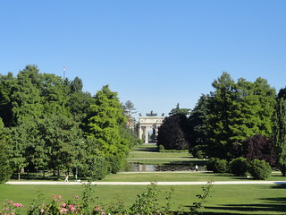 Arco della Pace in Parco Sempione, Milan, Italy   by Veselina Dzhingarova