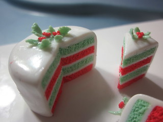 Christmas layer cake | by Miniature Kitchen