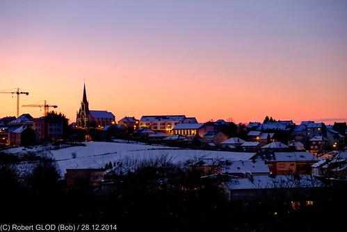 landscape night snow sunset winter lamadelaine luxembourg allfreepicturesfebruary2018challenge
