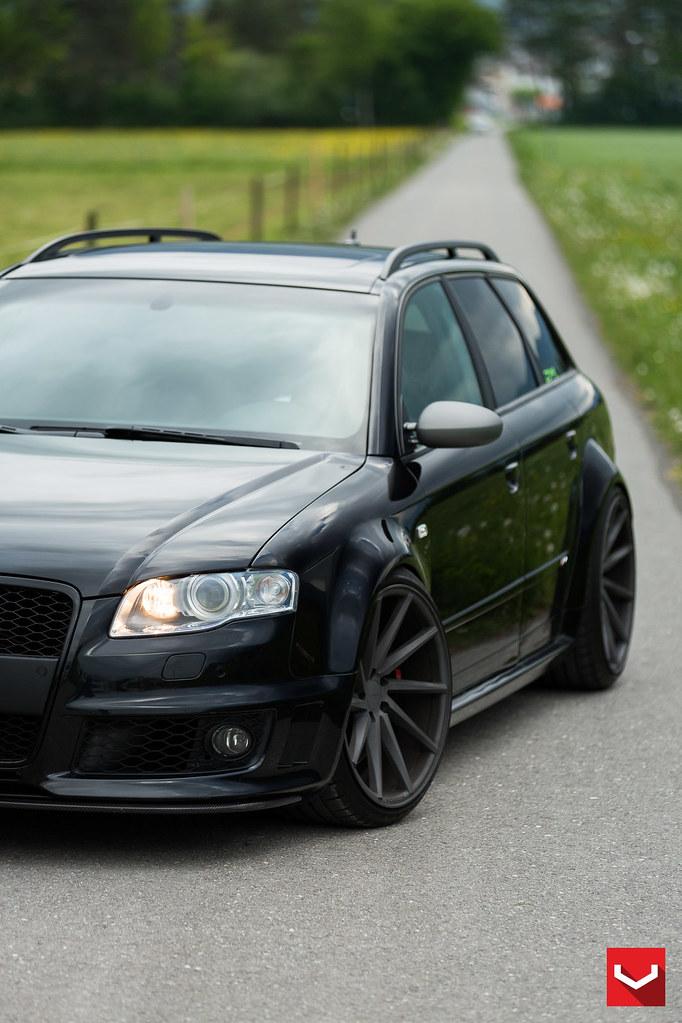 Audi B7 Rs4 On Vossen Cvt Vossen Wheels 2015 1046 Flickr