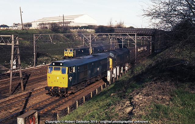 1977 - Transfer at Rotherwood..