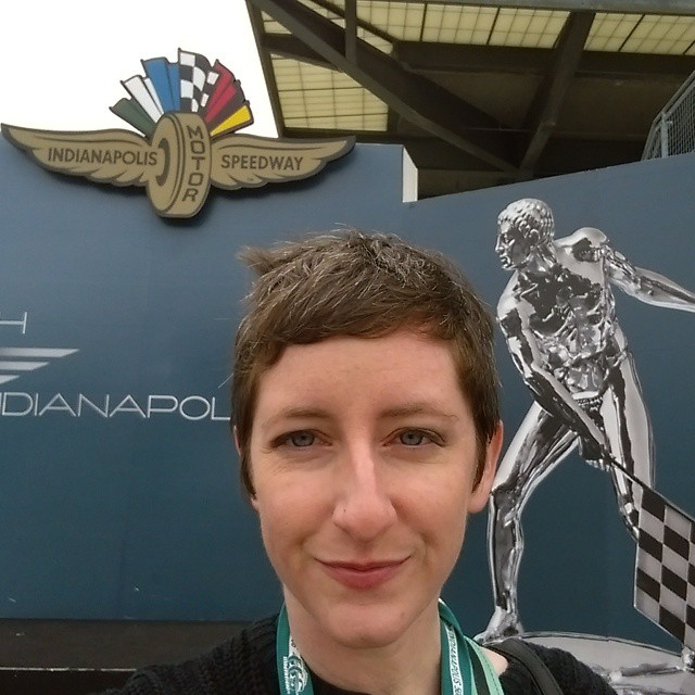 #selfie at the winners circle. This is a place of racing legends. #IndyCar #Indy #Indy500