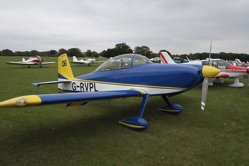 G-RVPL Vans RV-8 [PFA 303-13885] Sywell 030911