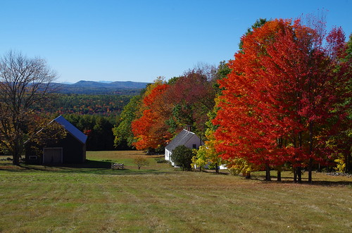 Quaker Ridge in October | by mainebarns