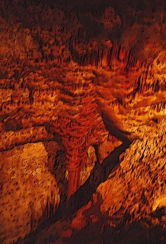 italy sardegna mountain scenery landscape sardinia cave grotta marmura nature