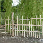 Rustic Chestnut fencing