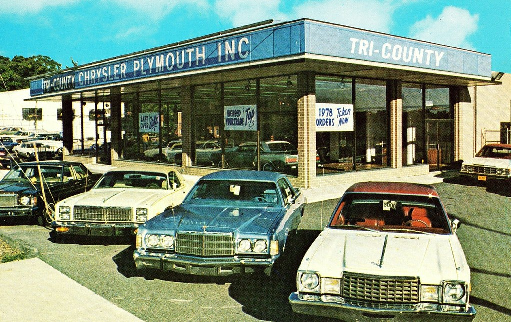 Tri-County Chrysler-Plymouth, New Rochelle NY, 1978 - a ...