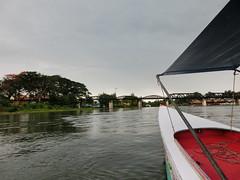 Nach dem Regenguss - Bootstour - Kanchanaburi