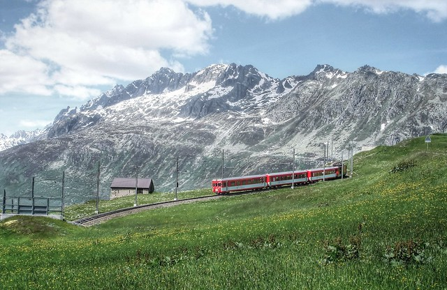 Glacier Express - what a view!