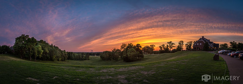 ky owensboro sunset country golfcourse pano panorama pearlclub rural summit landscape