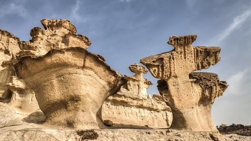 paisaje rocas erosiones naturaleza
