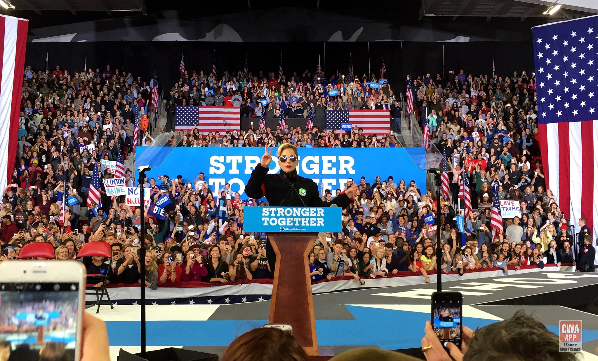Midnight Rally with Hillary in Raleigh, NC