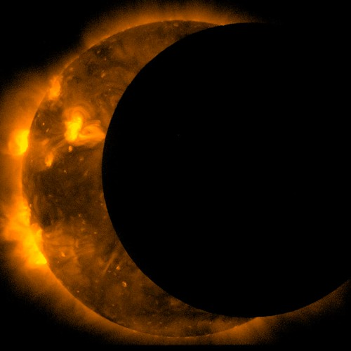 JAXA/NASA Captures 2012 Annular Solar Eclipse | by NASA Goddard Photo and Video