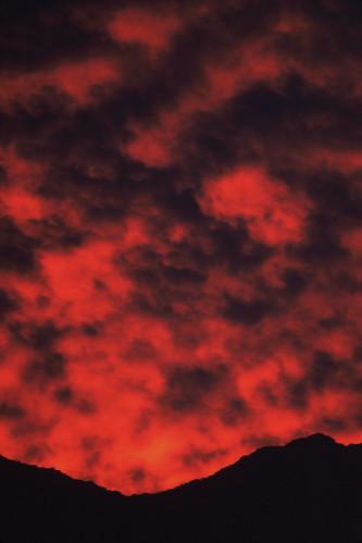 christmas arizona phoenix clouds sunrise kodachrome olympusom1 sunnyslope