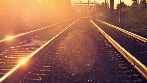 travel sunset summer sunlight nature sunshine train sunrise switzerland