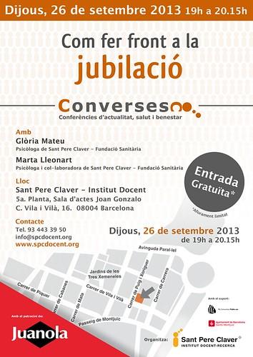 Converses X: Com fer front a la jubilació | by Grup - Fundació Sant Pere Claver