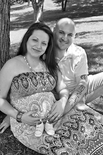 Lauren & Greg Pregnancy Photoshoot | by Sarah Whisted