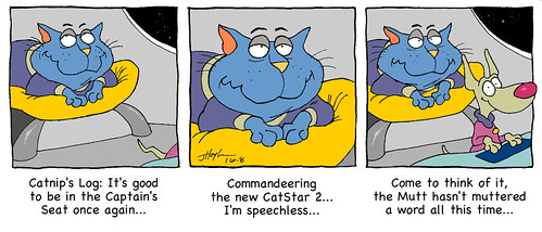 Catnip commands the CatStar2jpg | by Catnip Cat by Jeff Hoyle