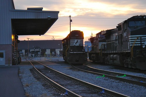 sunrise roanoke norfolksouthern 2013
