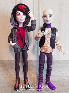 Clothes for Gargoyle and Vampire | by threeeyedghoul