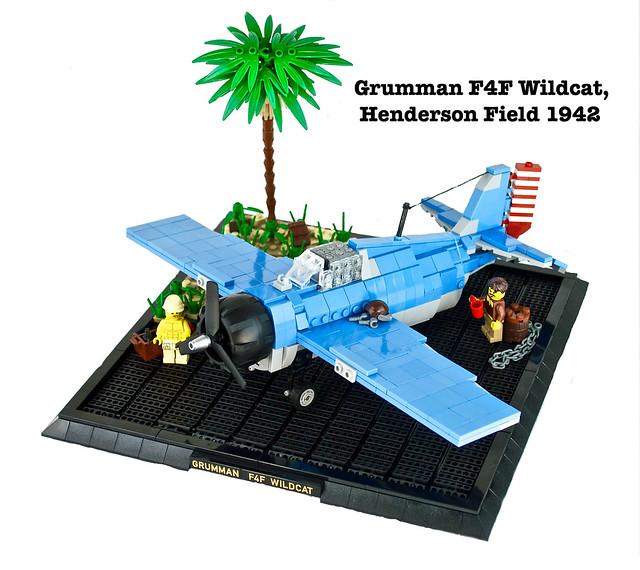 Grumman F4F Wildcat, Henderson Field 1942