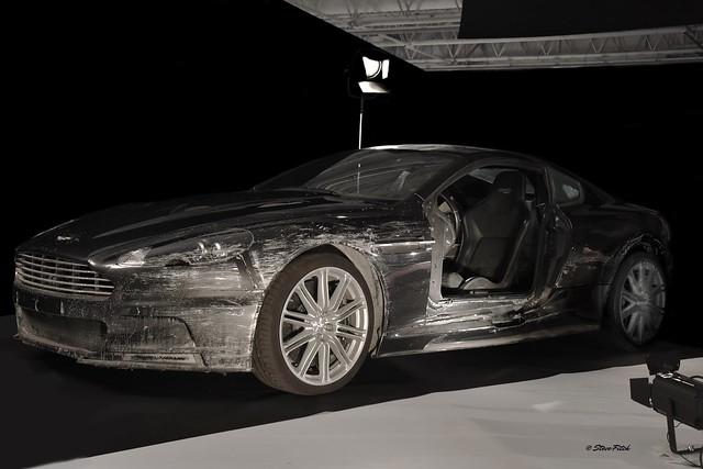 Aston Martin....... minus a door.....