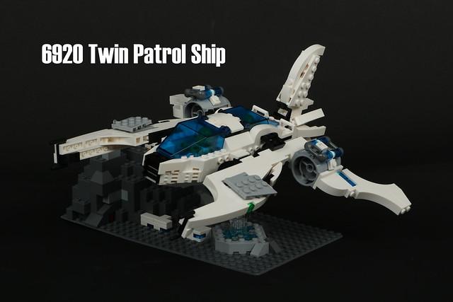 6920 Twin Patrol Ship