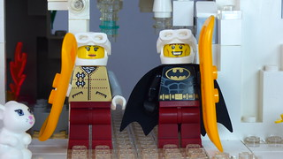Brick Yourself Custom Lego Set Ski Slope 5   by BrickManDan
