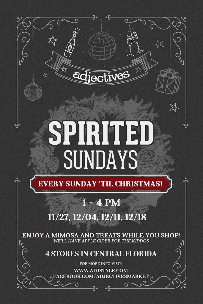 Spirited Sundays
