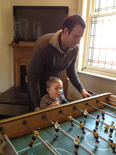 Table football at The Florence