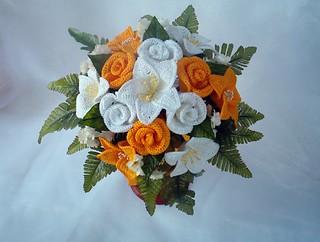 Bouquet Sposa Gigli.Bouquet Gigli Bianchi Bouquet Sposa Gigli E Rose Realizzat Flickr
