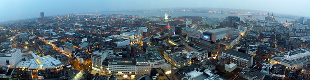 Liverpool from the St John's Beacon