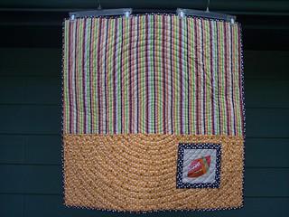 My favorite block quilt along back