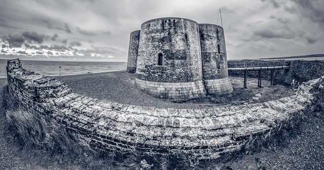 Aldeburgh Martello Tower B&W